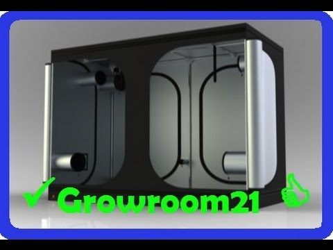 GROWBOX SET AUFBAU how to SETUP und ANSCHLUSS Zelt #Growroom21