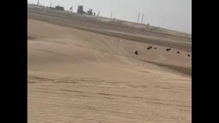 Gerard Piqué se dio un tremendo impacto a bordo de un todoterreno, durante sus vacaciones en las dunas del desierto de Qatar.