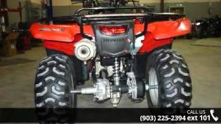 9. 2012 Honda FourTrax Rancher 4x4 ES  - Sherman Powersports...