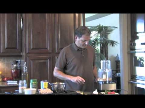 hummus - Chef Kamal demonstrates how to prepare Hoummos bi Tahini (Hummus), using garbanzo beans, lemon and tahini. This recipe is featured in his cookbook, Classic L...