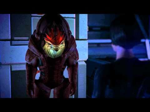 Wrex - Wrex talking about Aleena. I'm still convinced Aria is Aleena. The
