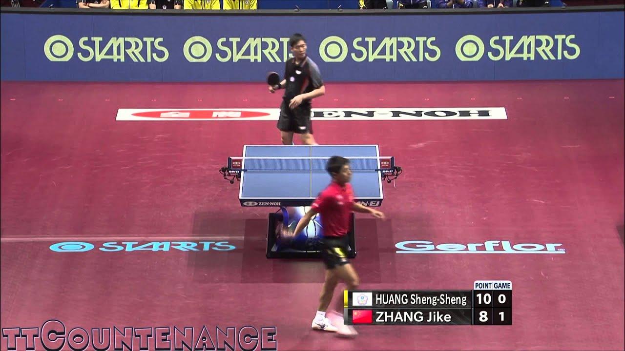 WTTTC: Zhang Jike-Huang Sheng Sheng