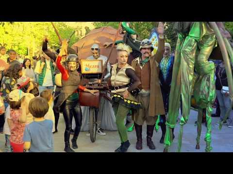 Pistacatro Productora de Soños. Mezzo. El fantástico circo de insectos gigantes del Doctor Mezzo.
