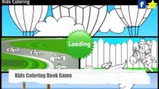 Kids Coloring Book Game FREE YouTube video