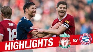 Video Highlights: Liverpool Legends 5-5 FC Bayern Legends | Alonso, Gerrard, Kuyt and more MP3, 3GP, MP4, WEBM, AVI, FLV Februari 2019