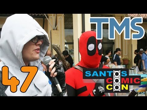 Santos Comic Expo no Cosplay - The Mullets Show #47
