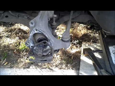 1999 Oldsmobile Intrigue wheel bearing and wiper switch replacement