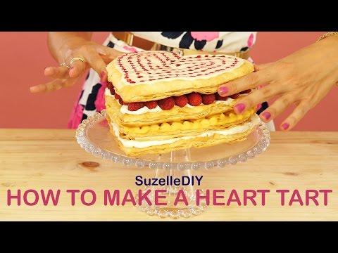 SuzelleDIY - How to Make a Heart Tart