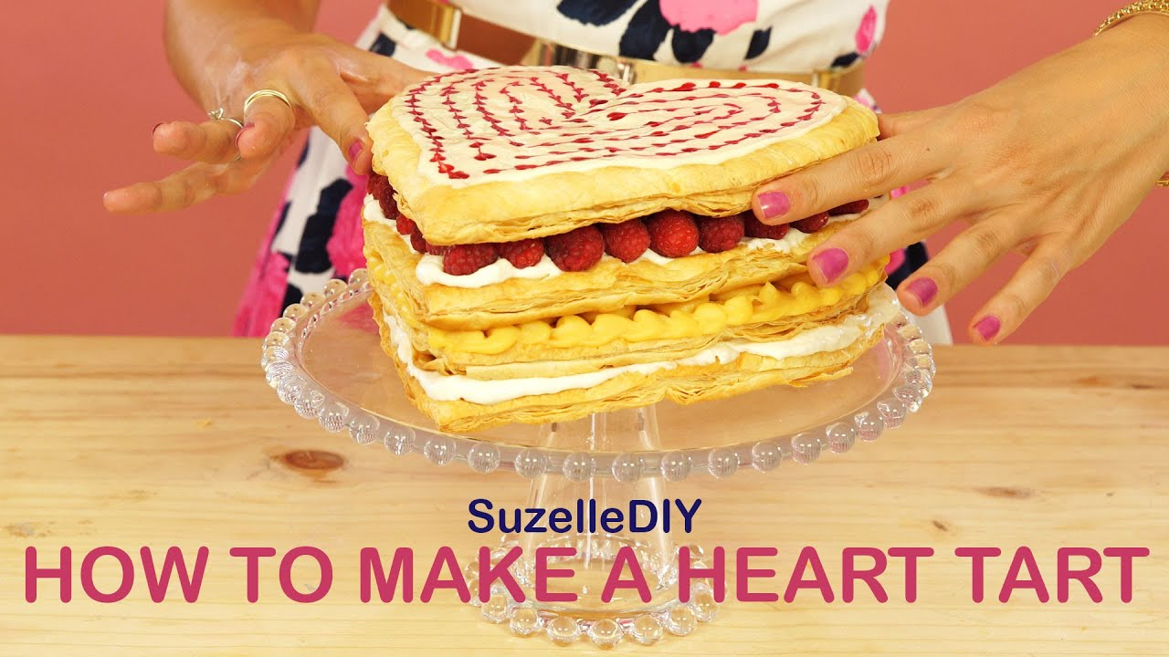 How to make a Heart Tart-graphic
