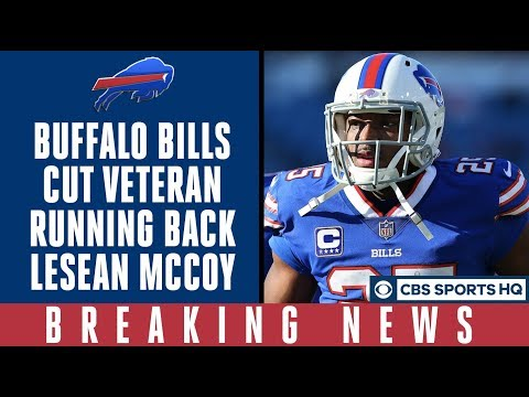 Video: Buffalo Bills CUT running back LeSean McCoy | What's next for Buffalo & McCoy? | CBS Sports HQ