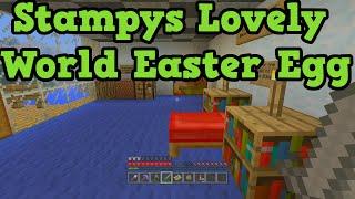 Minecraft Xbox: Stampy's Lovely World Tour - TU19 Easter Egg