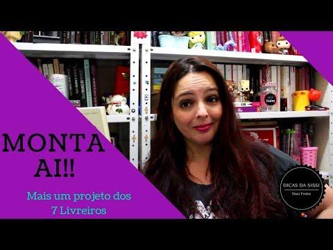 Monta Aí -  Projeto 7 Liveiros | Dicas da Sissi Feat   Humberto Eu Leio Livros