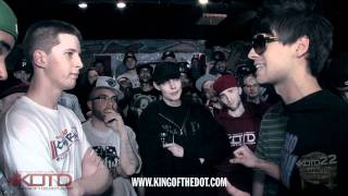 King of the Dot | Real Deal & Fresco vs. HFK & Charron