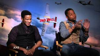 CUBA GOODING JR, NATE PARKER INTERVIEW - RED TAILS