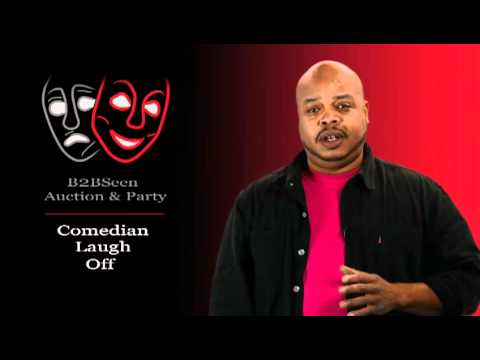 Comedian Gary Washington for B2BSeen Party & Auction, BMA Colorado