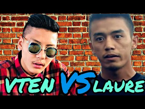 Vten VS Laure | Epic RAP Battel | Fan Made Funny Video Ft. SACAR