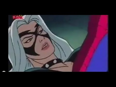 Spiderman The Animated Series - THE BLACK CAT SAVES SPIDERMAN