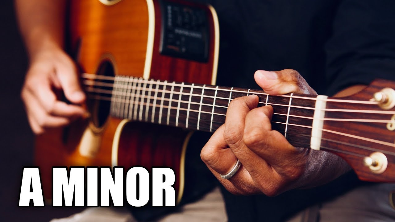 Soft Acoustic Guitar Backing Track In A minor | Summer Nights