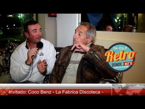 Coco Benz - Recordando la Fabrica Discoteca - Primera parte
