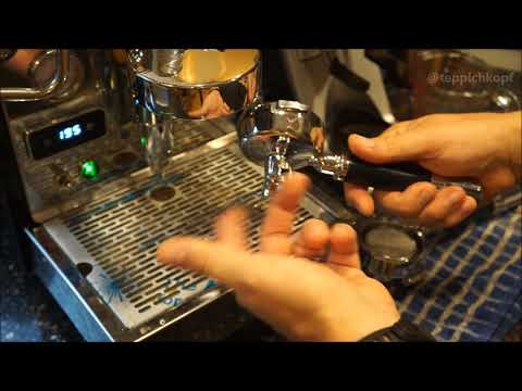 ECM Classika PID espresso machine - Secondary benefits of bottomless portafilter