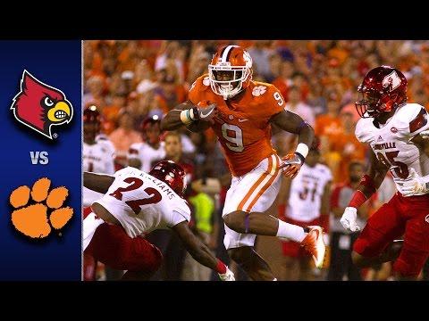 Louisville vs. Clemson Football Highlights (2016) (видео)