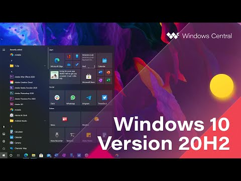 Windows 10 October 2020 Update – Official Release Demo (Version 20H2)