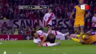 River Plate 3 Tigres 0 - Copa Libertadores 2015 - HD RIVER CAMPEON RESUMEN Y FESTEJOS