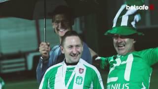 """Vilniaus """"Žalgiris"""" UEFA Čempionų lygos kovas pradėjo viena įspūdingiausių pergalių per pastaruosius kelerius metus. Lietuvos čempPil"""