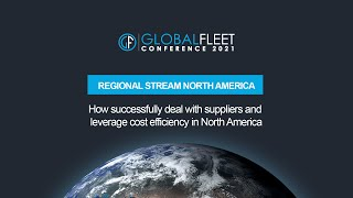 How successfully deal with suppliers and leverage cost efficiency in North America