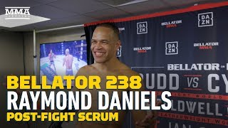 Bellator 238: Raymond Daniels Wants To Level Up In MMA, Aims At Douglas Lima - MMA Fighting by MMA Fighting