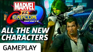 Frank West, Nemesis, Haggar, and Spider-Man all return to MvC: Infinite, along with newcomer Gamora! Enjoy some gameplay of full matches featuring all the new characters revealed at San Diego Comic Con 2017.Subscribe to GameSpot! http://youtube.com/GameSpot?sub_confirmation=1Visit all of our channels:Features & Reviews - http://www.youtube.com/GameSpotVideo Game Trailers - http://www.youtube.com/GameSpotTrailersMovies, TV, & Comics - http://www.youtube.com/GameSpotUniverseGameplay & Guides - http://www.youtube.com/GameSpotGameplayMobile Gaming - http://www.youtube.com/GameSpotMobileLike  - http://www.facebook.com/GameSpotFollow - http://www.twitter.com/GameSpothttp://www.gamespot.com