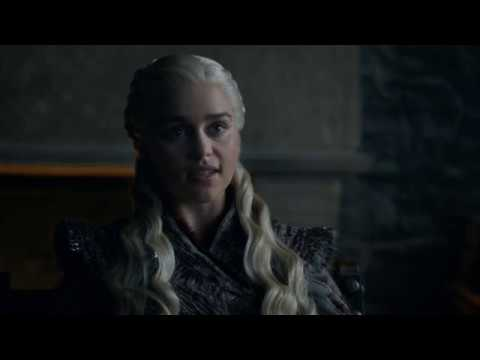 Daenerys discusses with Jaime and Sansa (Game of Thrones season 8 episode 2 Daenerys part 1)