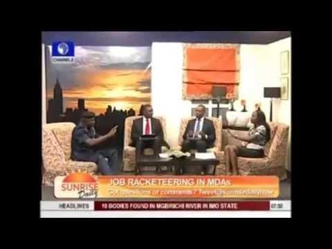 , title : 'Maupe Ogun of Channels TV Forgot To Wear Bra on Air'