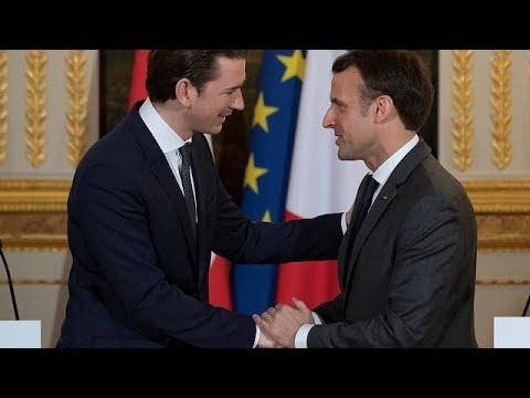 Österreichs Kanzler Kurz bei Macron: Lob und ein Rü ...