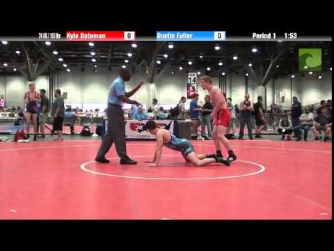 Men 74 KG / 163 lbs – Kyle Bateman vs. Dustin Fuller