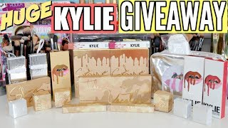 "Thank you all for watching my huge kylie cosmetics giveaway. In this giveaway I am giving a way the full kylie vacation collection and more of her products! Enter by clicking the link below!ENTER GIVEAWAY HERE: https://gleam.io/enDC6/huge-kylie-cosmetic-giveaway There will be 1 winner.  Must only verify you are subscribed!   Other entries are BONUS entries.    Ends July 25th at 11:59pm!  Winners will be emailed on July 26th!    The winner has 24hrs to respond before a new winner will be chosen!  Winner's names will be announced in description box of video after they respond to their email! If you are under 18 you must have parent consent to enter!    Do not email me saying you have parental consent or you want to win!    Giveaway is International!    Emails sent to my email address about the giveaway will be disqualified.    Spam accounts and accounts looking for giveaways will be invalid by generator.    Accounts that follow and unfollow for giveaways will be invalid entries by generator.  This is for my subscribers and constant viewers. Good luck!FTC DISCLAIMER: Always full disclosure here! This video is not sponsored. All opinions expressed are my own and not edited by any companies mentioned. Some links are affiliate links.------------------------------------↓ ALL PRODUCTS LISTED DOWN BELOW ↓→ MY VLOG CHANNEL  http://bit.ly/1TxBSRl→ CHECK OUT MY BLOG WEBSITE  http://madisonmillerblogs.com→ TWITTER  INSTAGRAM  SNAPCHAT  TUMBLR  PINTEREST  madison89miller------------------------------------UPS Mailbox:10531 4s Commons DR. #222San Diego, CA 92127Business Inquiries Only: madisonbusiness@ipsy.com------------------------------------ ♡ MAKEUP BRUSHES COUPON CODES ♡→ LUXIE BRUSH 20% OFF ""MADISON20"" http://bit.ly/1GR2NDV → SIGMA 10% OFF ""MADISON"": http://bit.ly/1WH5v21 → SLMISSGLAM 40% OFF ""MadisonM"" ALL BRUSH BOOKS http://bit.ly/1L9Tkdl → SLMISSGLAM 30% OFF ALL GLAM SETS ""MadisonMiller http://bit.ly/1L9Tkdl  ------------------------------------♡ COUPON CODES ♡→ EBATES GET CASH BACK: http://bit.ly/1V31neY → EMILE CORDON LIP POTS (AMAZING!): http://bit.ly/2mXyCmO→ FACETORY USE CODE ""MADISON20"" FOR 20% OFF https://www.facetory.com → BECAUSE OF CASE PHONE CASES USE CODE ""MADISONMILLER10"" FOR 10% OFF http://bit.ly/2hM10rY → LOVING TAN USE CODE ""MADISON"" FOR A FREE TANNING MITT: http://bit.ly/26ihLwt → SPONGELLE (BEST BODY BUFFERS!) USE CODE ""MADISON20"" FOR 20% OFF: http://spongelle.com→ OFRA COSMETICS (30% OFF USE CODE ""MADISON30""): http://bit.ly/218VA6P→ SUBSCRIBE TO BOXYCHARM: http://mbsy.co/dpqQz → BELFIORE EYESHADOWS (20% OFF ""MADISON""): http://bit.ly/1LERcoM→ THE ORIGINAL BEAUTYBOX (15% OFF ""LOVEMADISON15""): http://bit.ly/1QwHiXC→ 40% OFF GLAM BRUSH BOOK (USE CODE ""MadisonM""): http://bit.ly/1L9Tkdl→ MILLION DOLLAR TAN (20% OFF ""MADISON20""): http://bit.ly/1kehmRw→ ROCKSBOX (USE CODE ""madison89millerxoxo"" FOR 1 FREE MONTH): http://bit.ly/1zlI9nQ"