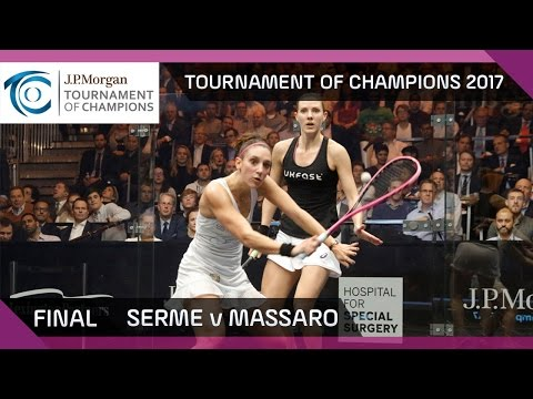 Squash: Serme v Massaro - Tournament of Champions 2017 Final Highlights