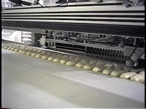 Gantry Bread Scoring Product on Belt
