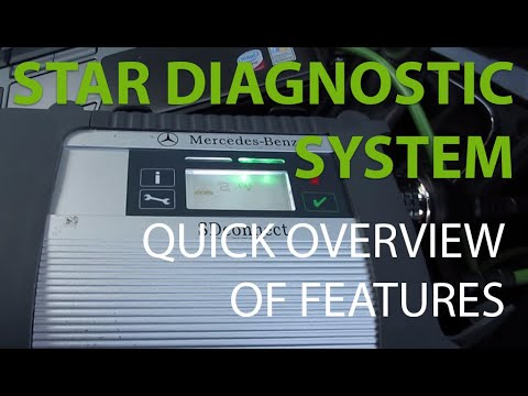 Mercedes STAR Diagnostic System + Airmatic Lowering - Quick Overview of features