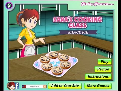 How To Play Mince Pies Sara S Cooking Class Shockwave Girls Games