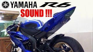 11. Yamaha R6 2012 Exhaust Alumunium Akrapovic 3/4 System Flame SOUND 99%(istimewa)