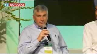 יגאל לנדאו מדבר בפאנל במסגרת ועידת האנרגיה 2015