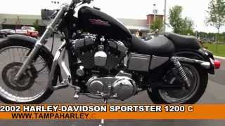 8. Used 2002 Harley Davidson  Sportster 1200 Custom  For Sale Review Specs