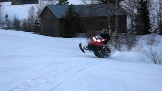 3. Polaris IQ 700 riding