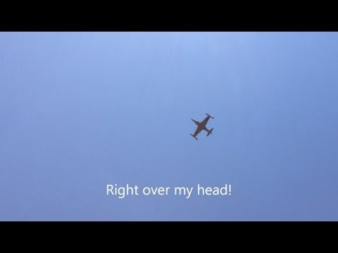This is video of the Lockheed T-33...