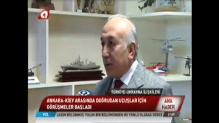 Ankara Kiev Uçuşları 2016'da Başlıyor