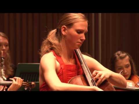 Finale National Cello Concours 2016 - Jobine Siekman (3e prijs) - Sjostakovitjs, 2e deel