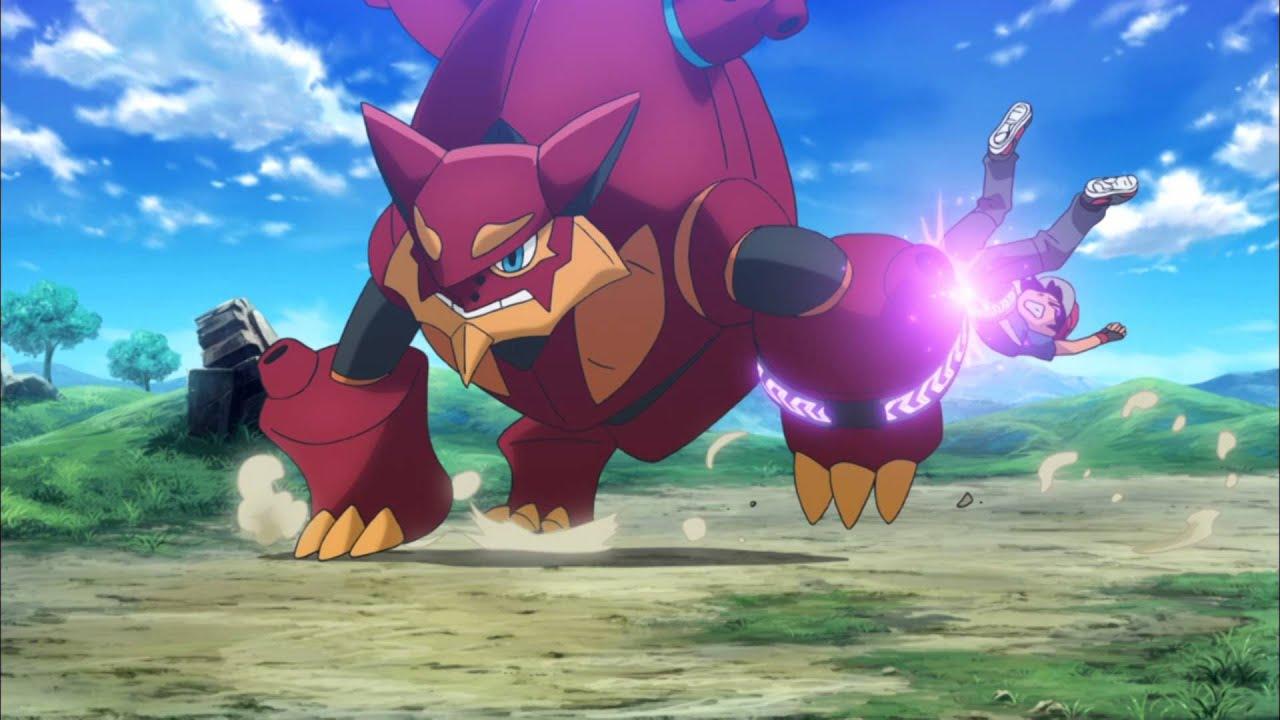 หนัง Pokémon XY & Z: Volcanion to Karakuri no Magearna