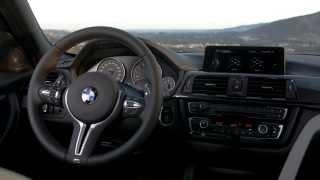 Yeni BMW M3 Sedan'ın iç mekan videosu // ototest.tv