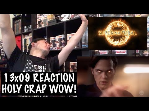 SUPERNATURAL - 13x09 'THE BAD PLACE' REACTION